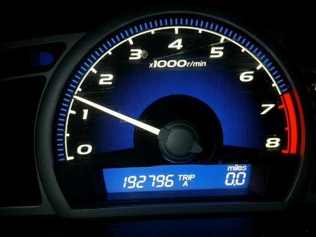 2HGFG12827H504765 - 2007 HONDA CIVIC EX SILVER photo 8