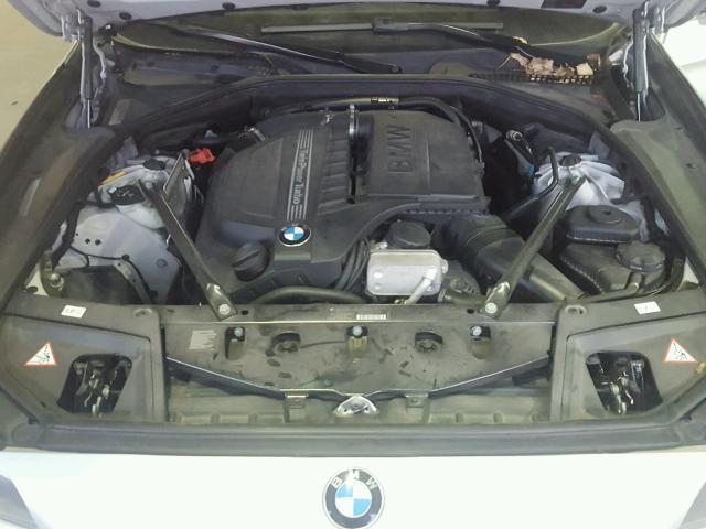 WBAFU7C58CDU62069 - 2012 BMW 535 XI SILVER photo 7