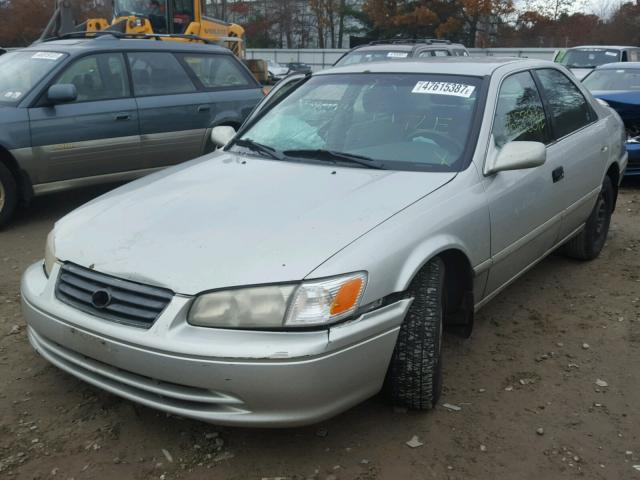 4T1BF22K31U115277 - 2001 TOYOTA CAMRY LE SILVER photo 2