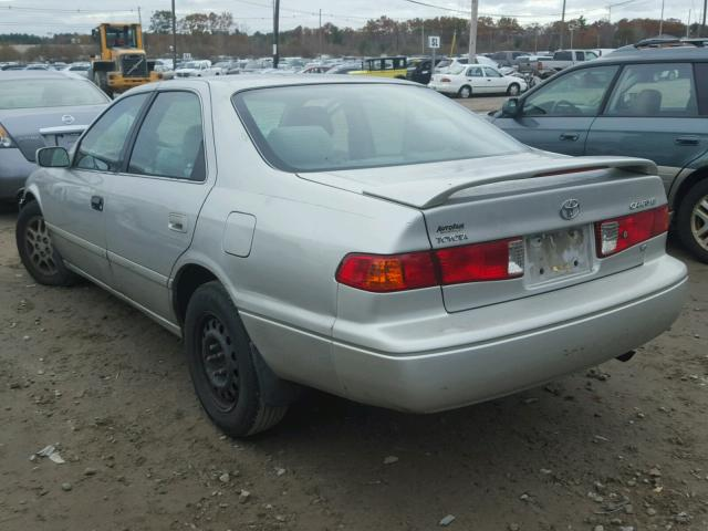 4T1BF22K31U115277 - 2001 TOYOTA CAMRY LE SILVER photo 3