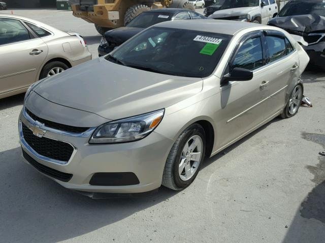 1G11B5SL7FF253236 - 2015 CHEVROLET MALIBU LS TAN photo 2