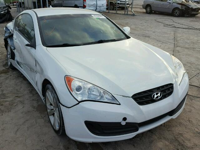 KMHHT6KDXCU070529 - 2012 HYUNDAI GENESIS CO WHITE photo 1