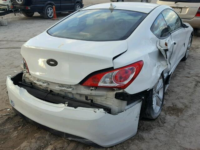 KMHHT6KDXCU070529 - 2012 HYUNDAI GENESIS CO WHITE photo 4