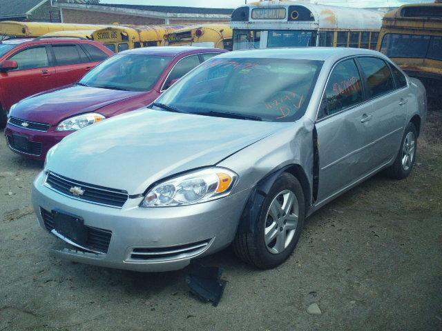 2G1WB58N979153633 - 2007 CHEVROLET IMPALA LS SILVER photo 2