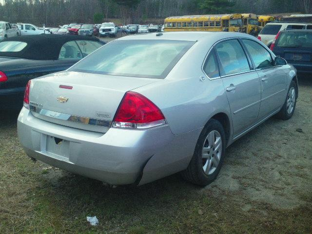 2G1WB58N979153633 - 2007 CHEVROLET IMPALA LS SILVER photo 4