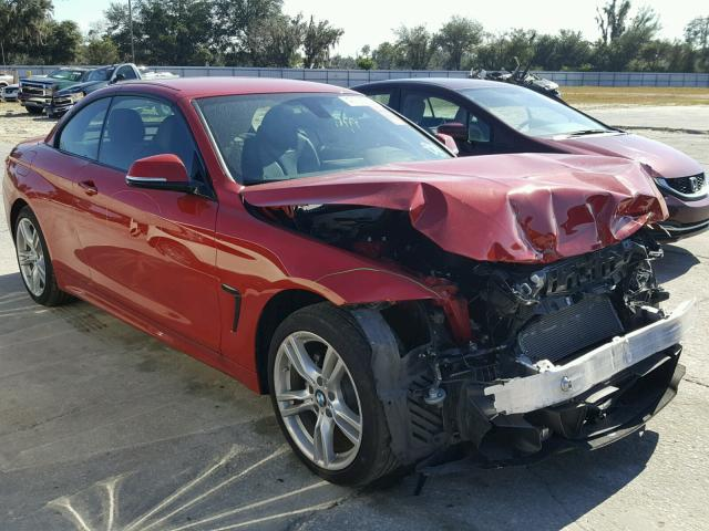 WBA3V9C53FP946732 - 2015 BMW 428 XI RED photo 1