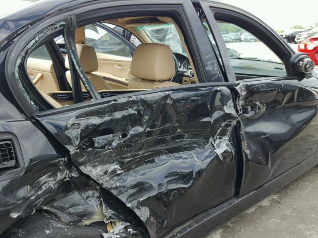 WBAVA33598KX87734 - 2008 BMW 328 I BLACK photo 9