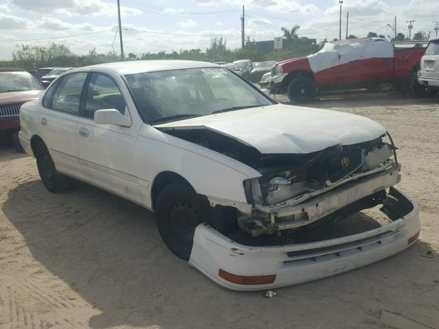 4T1BF12B8VU205489 - 1997 TOYOTA AVALON XL WHITE photo 1