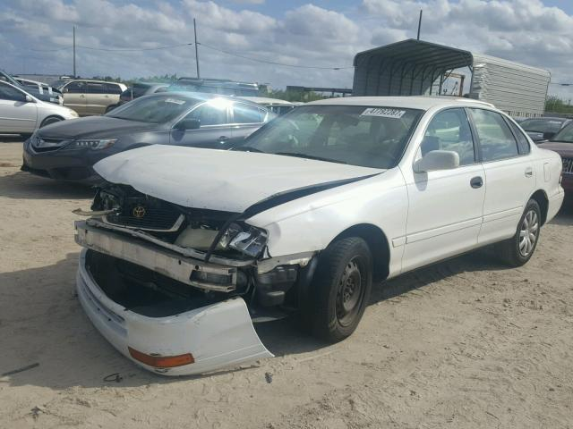 4T1BF12B8VU205489 - 1997 TOYOTA AVALON XL WHITE photo 2