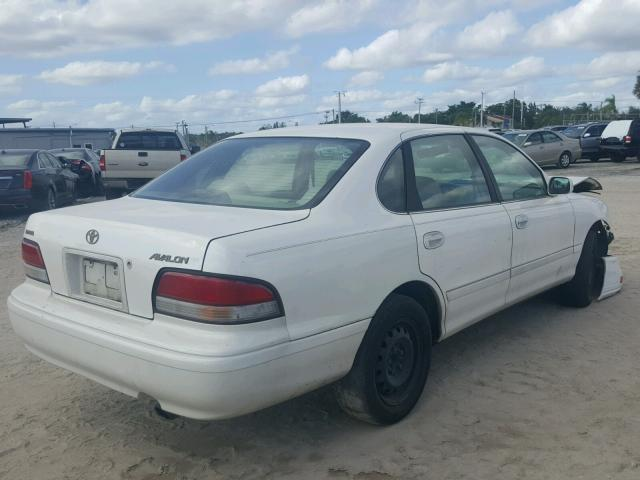 4T1BF12B8VU205489 - 1997 TOYOTA AVALON XL WHITE photo 4