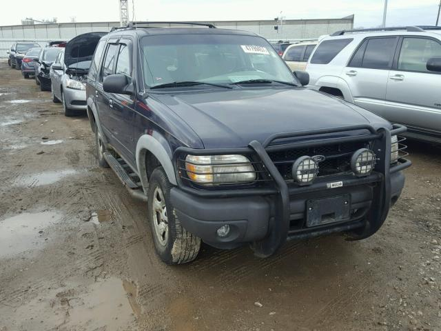 1FMZU72XXYZC27438 - 2000 FORD EXPLORER X BLUE photo 1