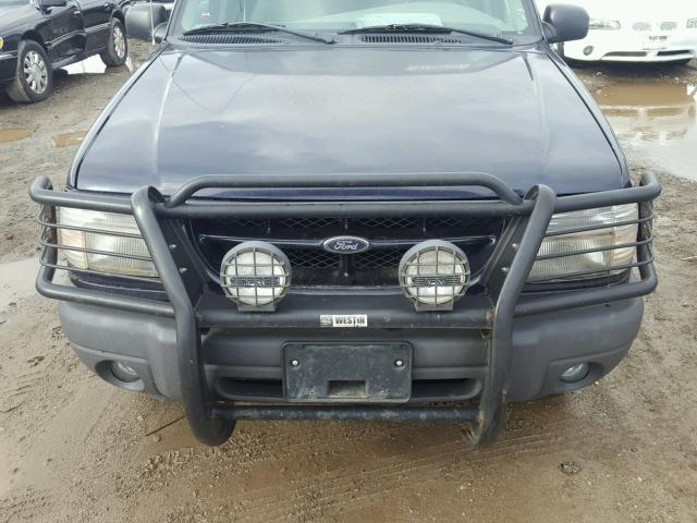 1FMZU72XXYZC27438 - 2000 FORD EXPLORER X BLUE photo 7