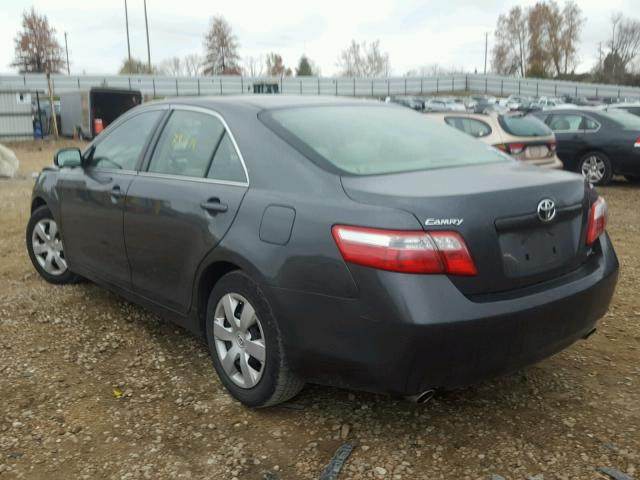 4T1BK46K17U015057 - 2007 TOYOTA CAMRY NEW GRAY photo 3