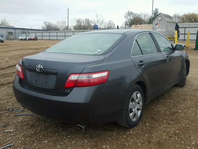 4T1BK46K17U015057 - 2007 TOYOTA CAMRY NEW GRAY photo 4