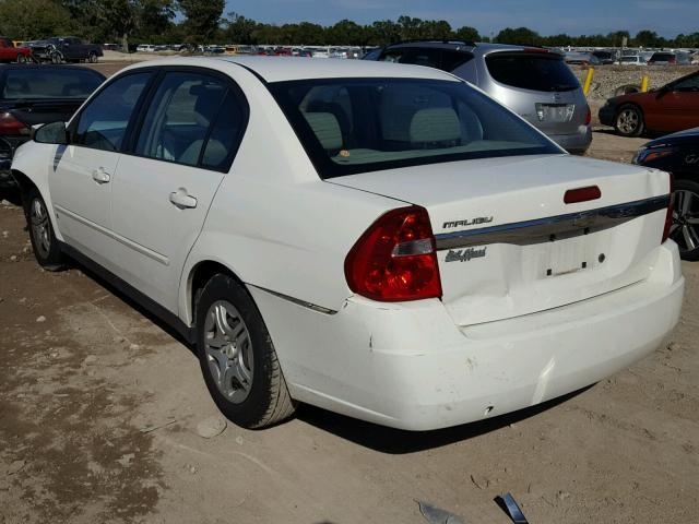 1G1ZS58F47F317545 - 2007 CHEVROLET MALIBU LS WHITE photo 3