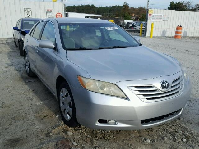 4T1BE46K97U500697 - 2007 TOYOTA CAMRY NEW WHITE photo 1