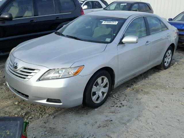 4T1BE46K97U500697 - 2007 TOYOTA CAMRY NEW WHITE photo 2