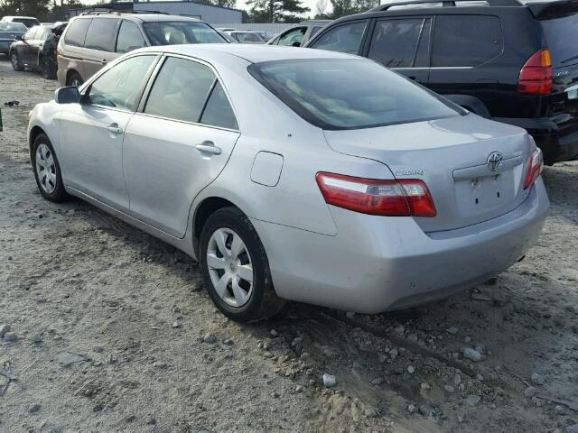 4T1BE46K97U500697 - 2007 TOYOTA CAMRY NEW WHITE photo 3