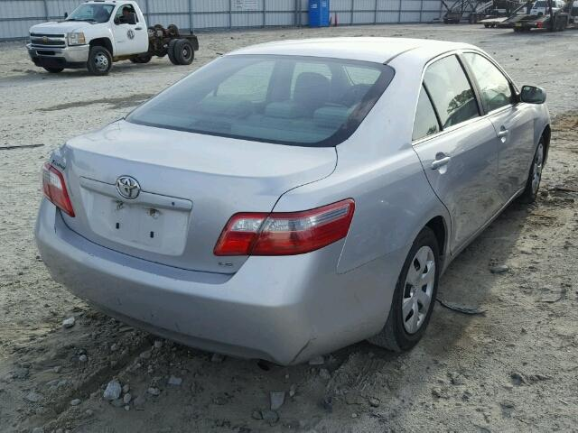 4T1BE46K97U500697 - 2007 TOYOTA CAMRY NEW WHITE photo 4