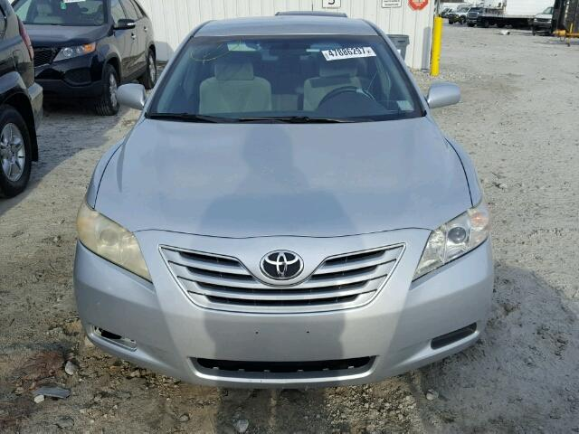 4T1BE46K97U500697 - 2007 TOYOTA CAMRY NEW WHITE photo 9