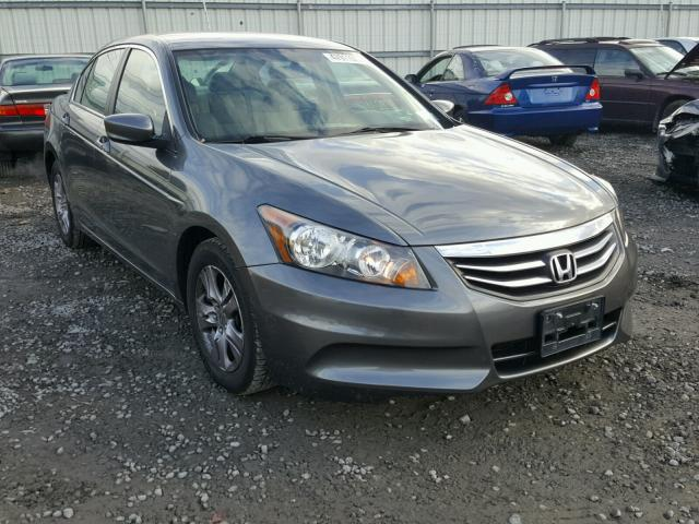 1HGCP2F44CA217193 - 2012 HONDA ACCORD LXP GRAY photo 1