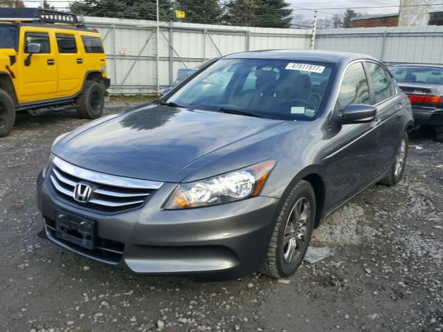 1HGCP2F44CA217193 - 2012 HONDA ACCORD LXP GRAY photo 2