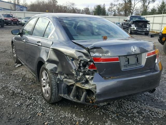 1HGCP2F44CA217193 - 2012 HONDA ACCORD LXP GRAY photo 3