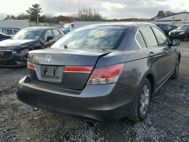 1HGCP2F44CA217193 - 2012 HONDA ACCORD LXP GRAY photo 4