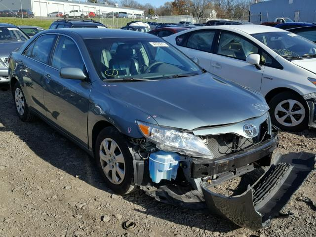 4T1BF3EK3BU684276 - 2011 TOYOTA CAMRY BASE GREEN photo 1