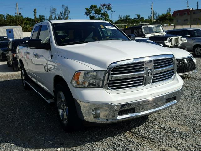 1C6RR6GT7GS284443 - 2016 RAM 1500 SLT WHITE photo 1