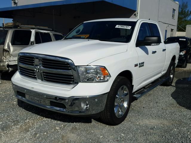 1C6RR6GT7GS284443 - 2016 RAM 1500 SLT WHITE photo 2