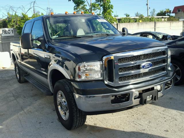 1FTSW21P46EA17135 - 2006 FORD F250 SUPER BLACK photo 1