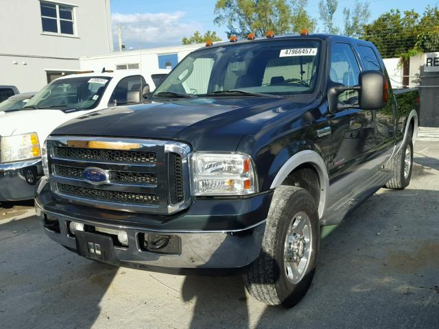 1FTSW21P46EA17135 - 2006 FORD F250 SUPER BLACK photo 2