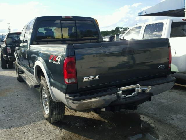 1FTSW21P46EA17135 - 2006 FORD F250 SUPER BLACK photo 3