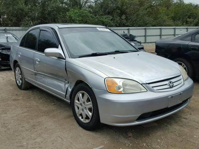 2HGES26743H564400 - 2003 HONDA CIVIC EX SILVER photo 1