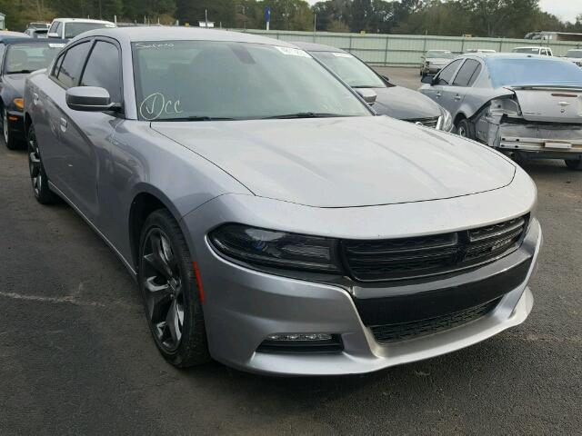 2C3CDXHG1FH881201 - 2015 DODGE CHARGER SX SILVER photo 1