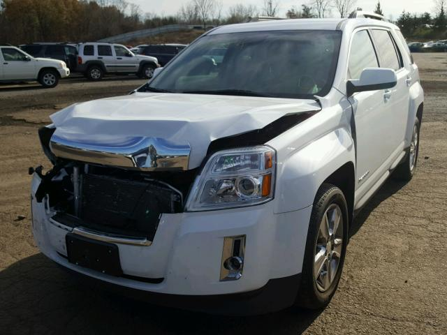 2GKFLWE37E6314917 - 2014 GMC TERRAIN SL WHITE photo 2