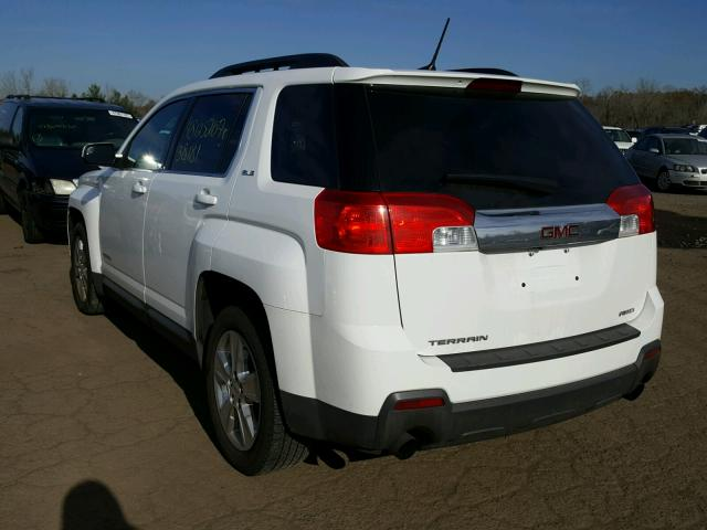 2GKFLWE37E6314917 - 2014 GMC TERRAIN SL WHITE photo 3