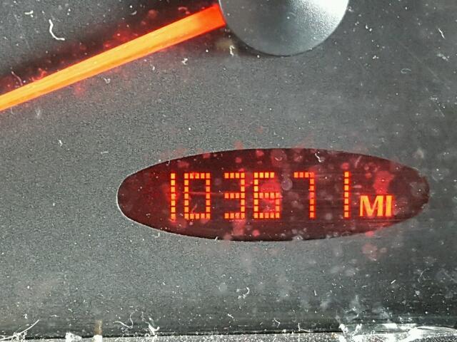 1G2ZH548854133039 - 2005 PONTIAC G6 GT BLACK photo 8