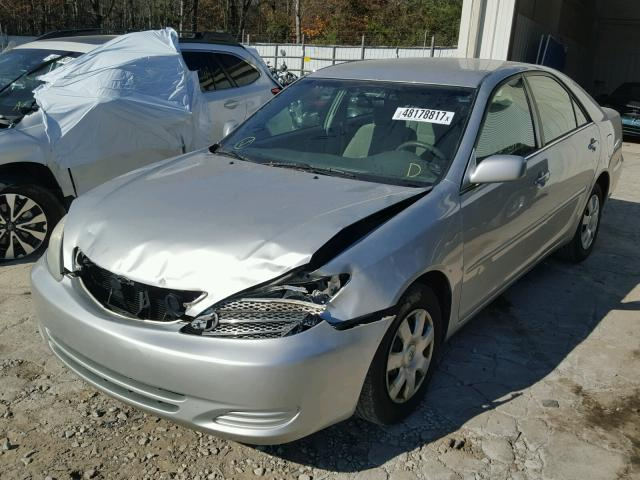 4T1BE32K43U766526 - 2003 TOYOTA CAMRY LE SILVER photo 2
