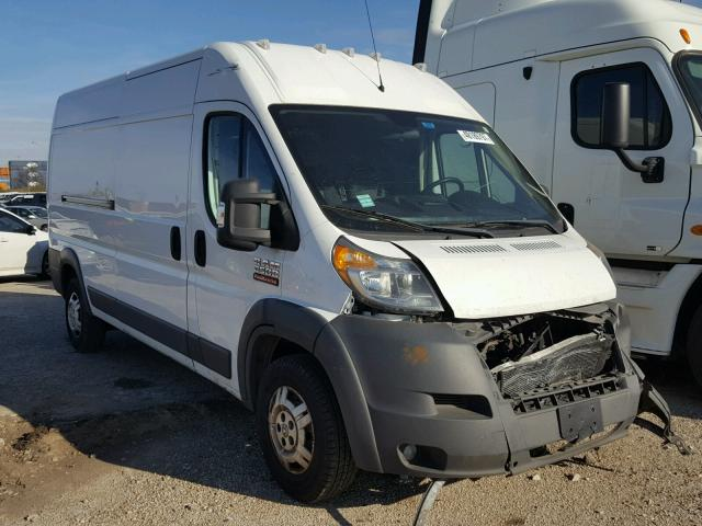 3C6TRVDG4EE104665 - 2014 RAM PROMASTER WHITE photo 1