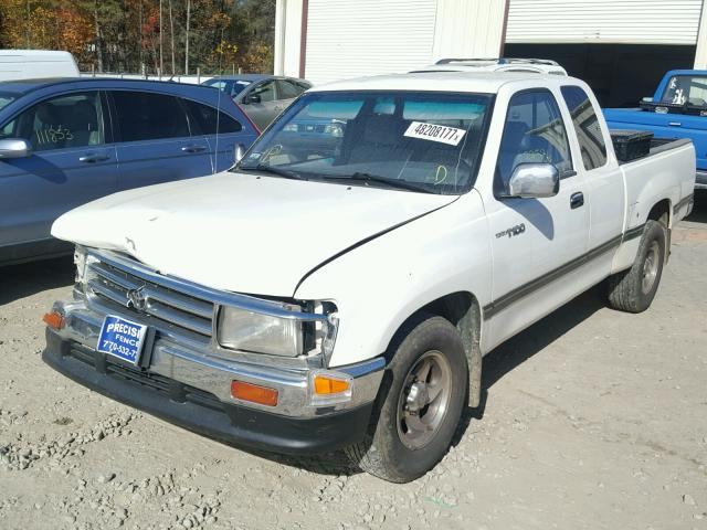 JT4TN12D5W0042631 - 1998 TOYOTA T100 XTRAC WHITE photo 2