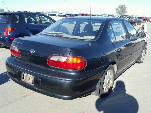 1G1NE52MXX6149374 - 1999 CHEVROLET MALIBU LS BLACK photo 4
