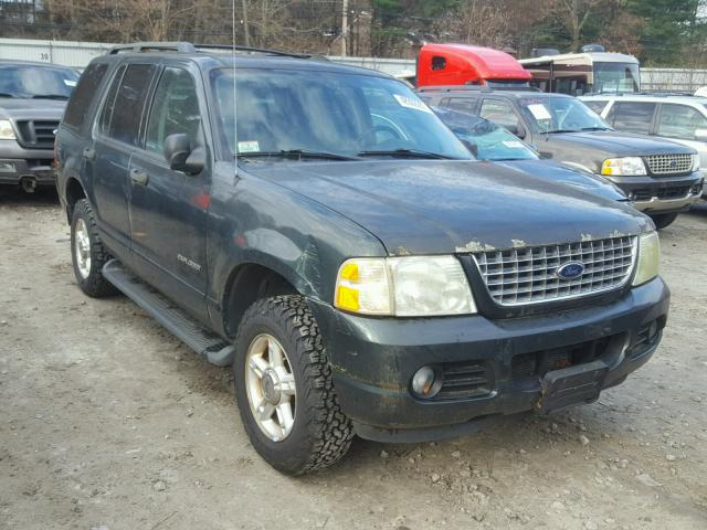 1FMZU73E34ZB00196 - 2004 FORD EXPLORER X GREEN photo 1