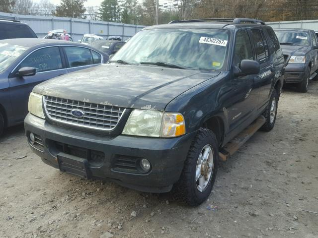 1FMZU73E34ZB00196 - 2004 FORD EXPLORER X GREEN photo 2