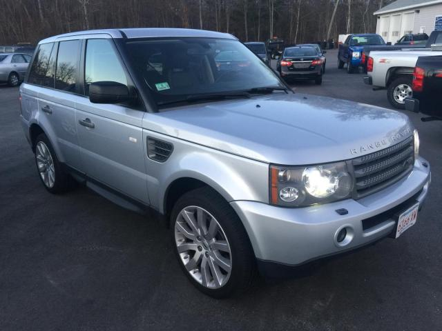 SALSK254X9A212432 - 2009 LAND ROVER RANGE ROVE SILVER photo 3