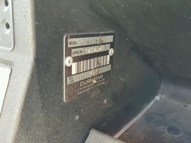 00000000000050807 - 2001 CUSH CART WHITE photo 10