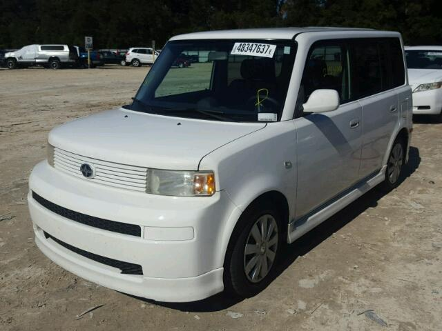 JTLKT324X50181816   2005 TOYOTA SCION XB WHITE Photo 2