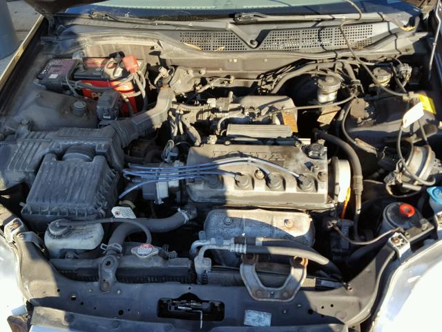 2HGEJ8548YH599266 - 2000 HONDA CIVIC EX BROWN photo 7
