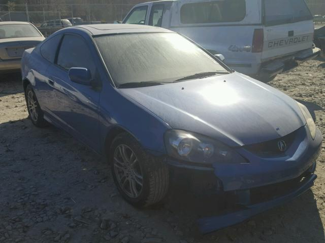 JH4DC54836S004805 - 2006 ACURA RSX BLUE photo 1